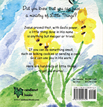 Miracles and Mustard Seeds - Back Page